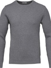 Knowledge Cotton Cotton/Cashmere Cable Knit