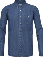 Knowledge Cotton Apparel Denim Shirt