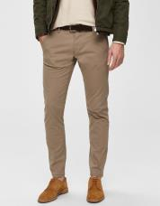 Ingen farve SELECTED - Slhparis regular fit chiyess - Beige / Greige