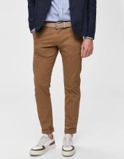 Ingen farve SELECTED - Slhparis regular fit chiyess - Brun / Camel