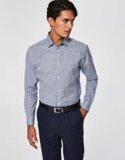 Ingen farve SELECTED - Slim fit - skjorte - Blå / Dark Navy