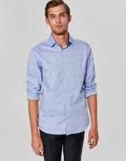 Ingen farve SELECTED - Slim fit - skjorte - Blå / Light Blue