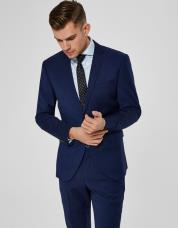 Ingen farve SELECTED - Slim fit - blazer - Blå / Blue Depths
