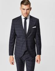 Ingen farve SELECTED - Slim fit - blazer - Blå / Navy Blazer