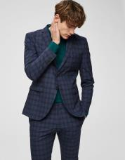Ingen farve SELECTED - Slim fit - blazer - Blå / Navy Blue