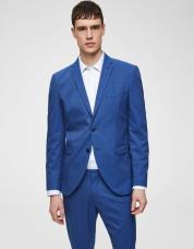Ingen farve SELECTED - Slim fit - blazer - Blå / Insignia Blue