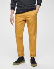 Ingen farve SELECTED - Slhyard slim fit - chinos - Gul / Honey Mustard