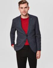 Ingen farve SELECTED - Slim fit - - blazer - Blå / Dark Blue